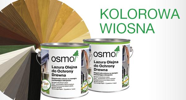 Farby do drewna Osmo - kolorowa wiosna